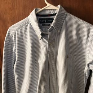 Men's Polo Ralph Laurent striped button up oxford